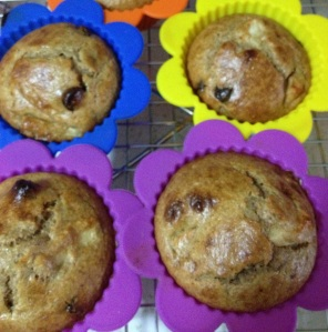 GF  Applesauce Muffins