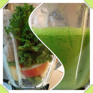 Apple Banana Green Juice